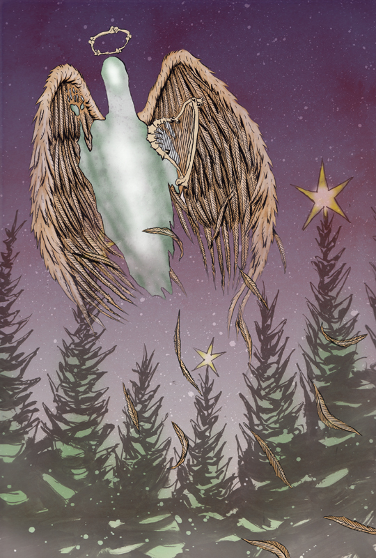 Spectral Christmas E-card