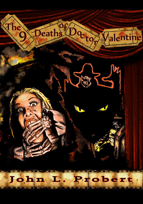 The Nine Deaths of Dr. Valentine cover image by JD Busch
