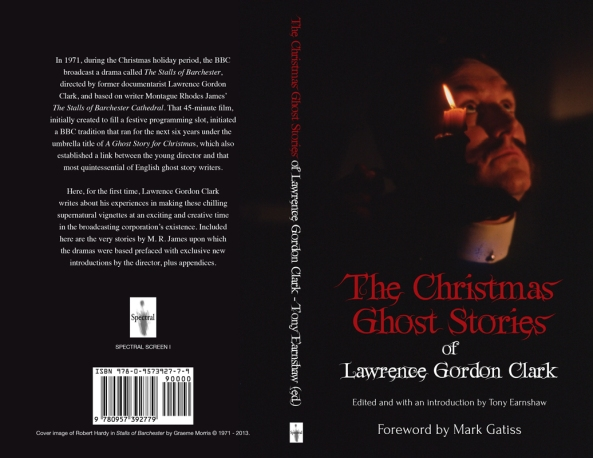 """The Christmas Ghost Stories of Lawrence Gordon Clark"", Cover image ©  1971 - 2013 Graeme Morris. Design by John Oakey."