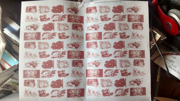 Endpaper design