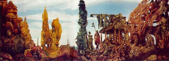 Europe After the Rain II - Max Ernst 1940-42. © 2014  Wadsworth Atheneum