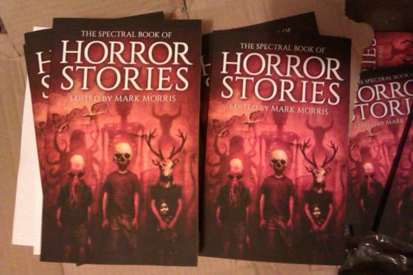 Sighted in the wild: The Spectral Book of Horror Stories, available from next week...