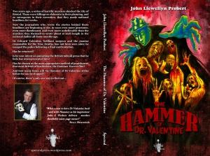 """The Hammer of Dr. Valentine"" ©2014 John Llewellyn Probert/Spectral Press. Artwork ©2014 Nick Gucker. Layout ©2014 Neil Williams."