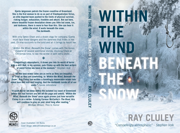 """""""Within the Wind, Beneath the Snow"""" ©2014 Ray CluleySpectral Press. Artwork ©2014 Jim Burns. Layout by John Oakey"""