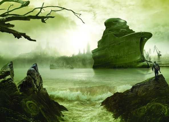 """The Black Ship"" by Jim Burns ©2015"