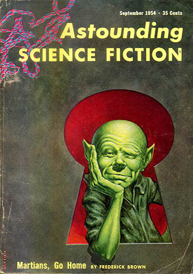 """The Art of Frank Kelly Freas"" with introduction by Isaac Asimov"