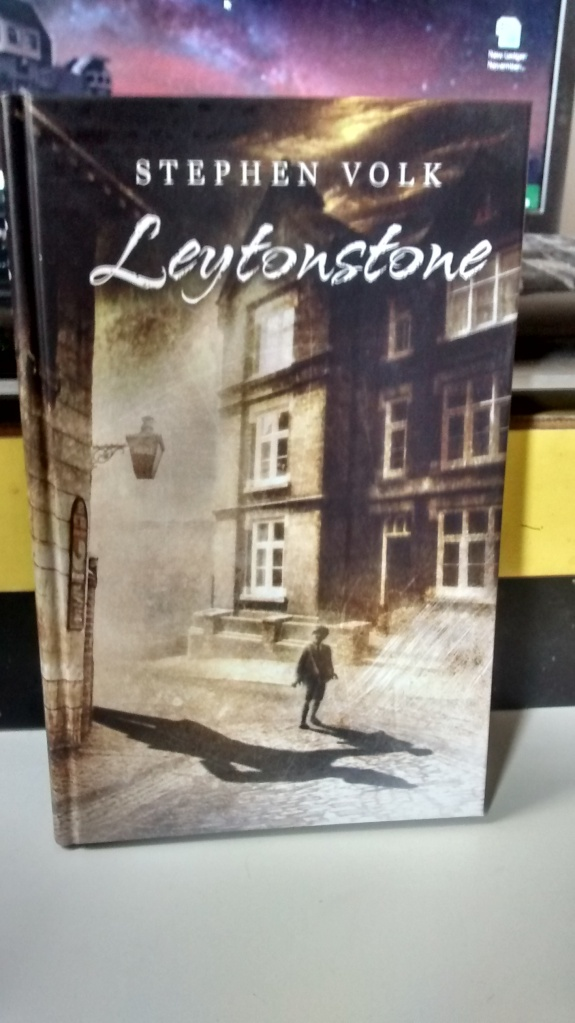 """Leytonstone"" by Stephen Volk ©2015. Artwork by Ben Baldwin ©2015"